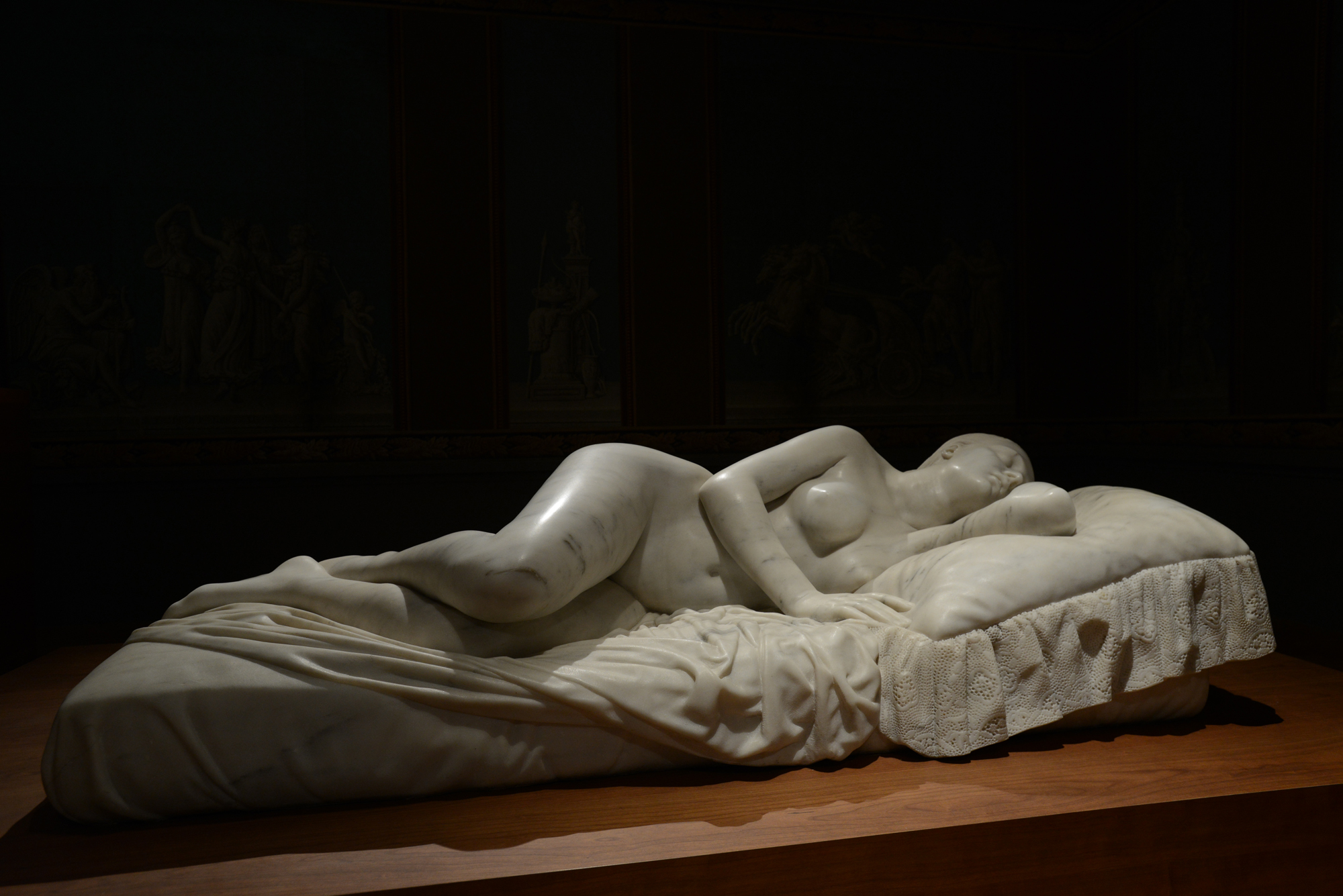 Louis-Pierre Deseine - Nymphe endormie © Musée de Valence, photo Éric Caillet