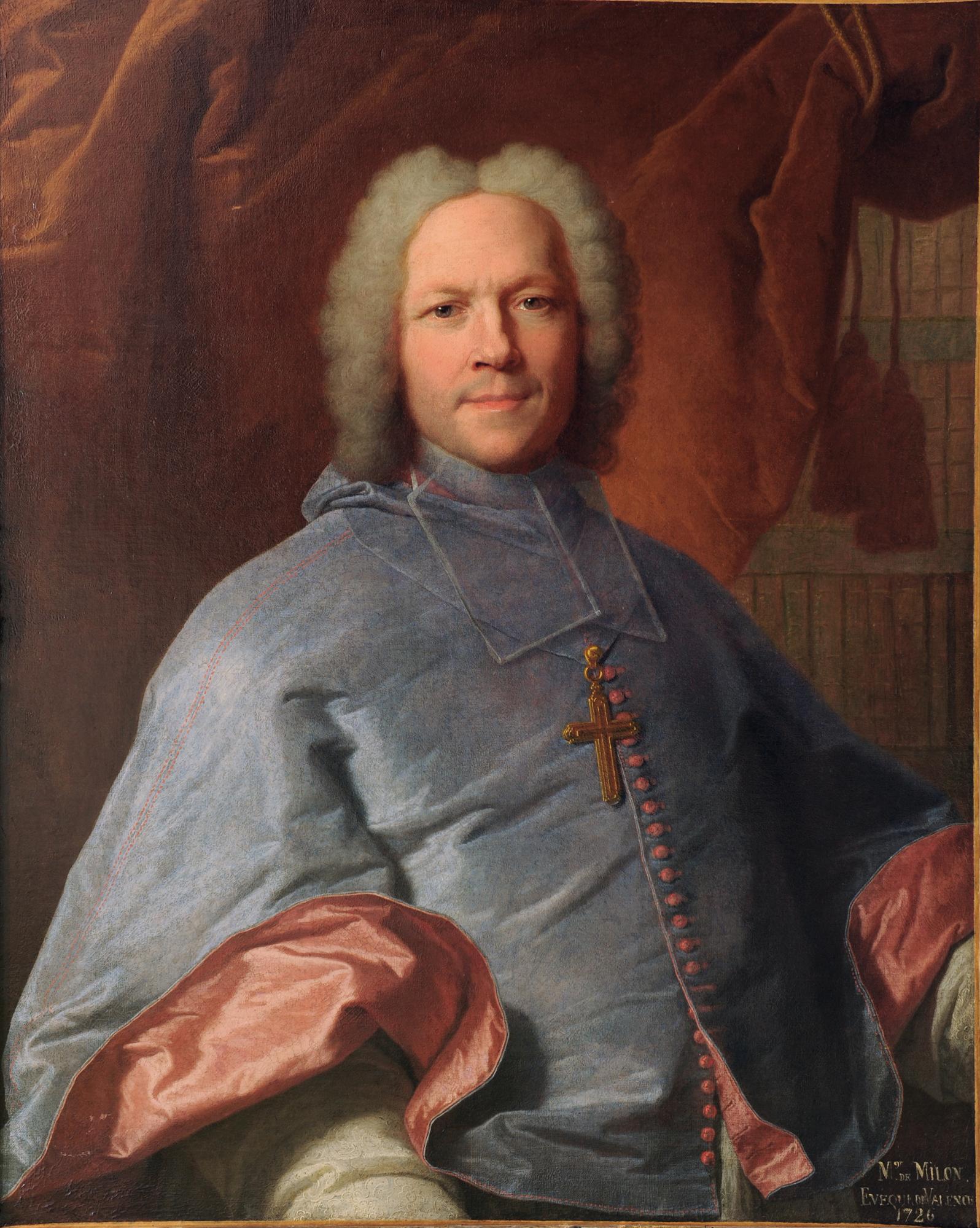 Hyacinthe Rigaud - Portrait d'Alexandre Milon de Mesme  © Musée de Valence, photo Éric Caillet
