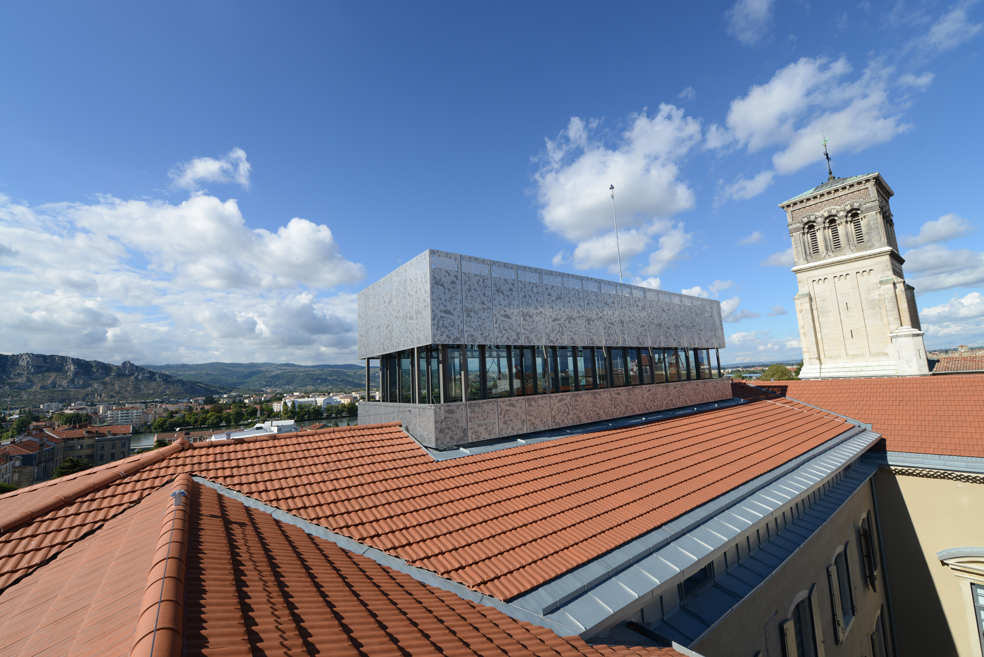 View from the belvedere2 ©Museum of  Valence, photo Eric Caillet.