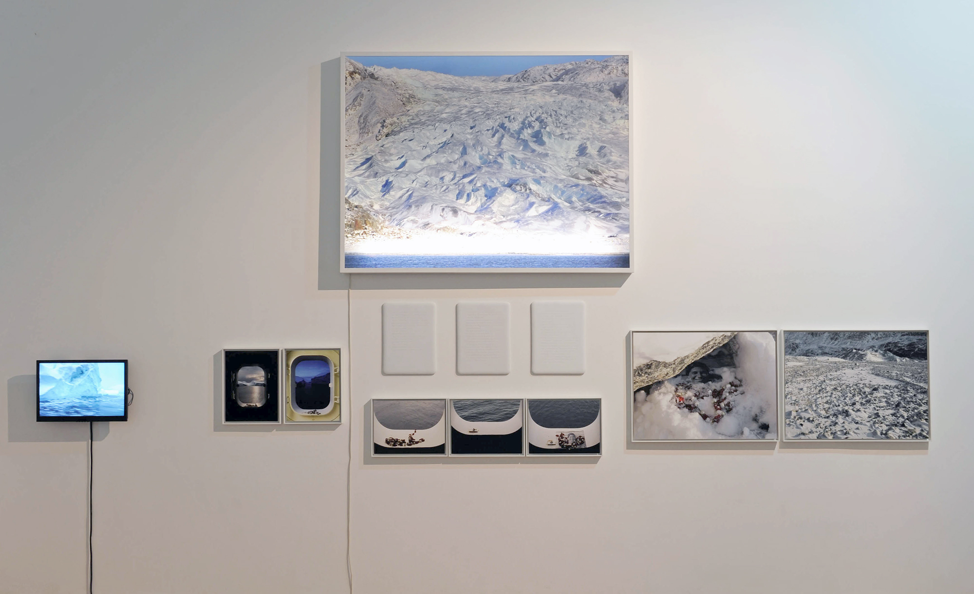 Sophie Calle - North Pole ©Museum of Valence, photo Éric Caillet