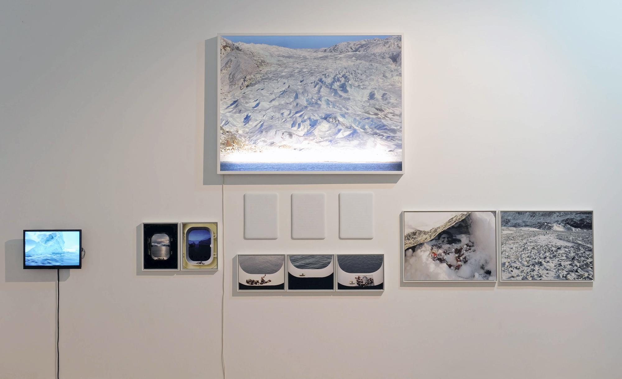 Sophie Calle - Pôle nord ©Musée de Valence, photo Éric Caillet