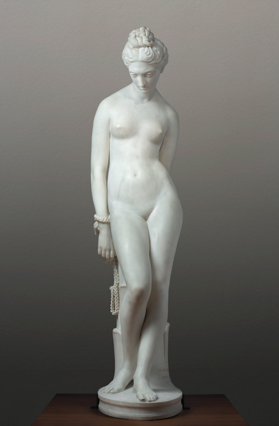 Jean-Baptiste Joseph de Bay, Jeune Esclave ou Jeune Captive enchaînée, 1835 © Musée de Valence, photographie Philippe Petiot