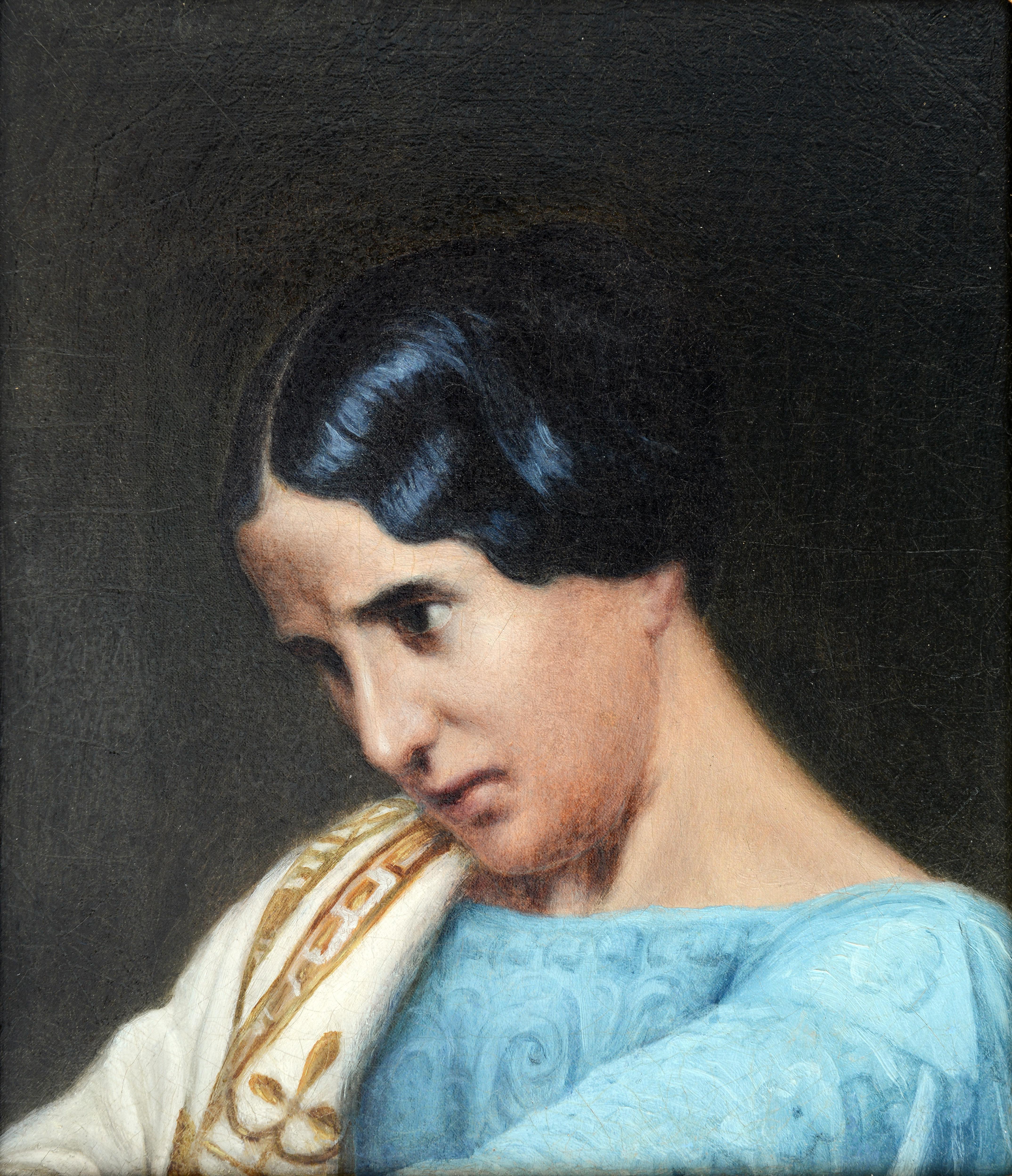 Prosper Guérin, Rachel, 19ème s. © Musée de Valence, photographie Eric Caillet