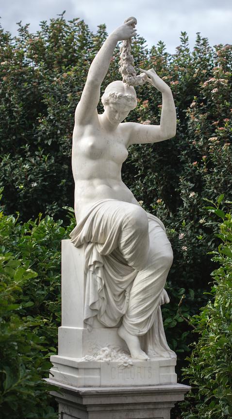 Henry Varnier, Chloris, 1865 © Musée de Valence, photographie Philippe Petiot