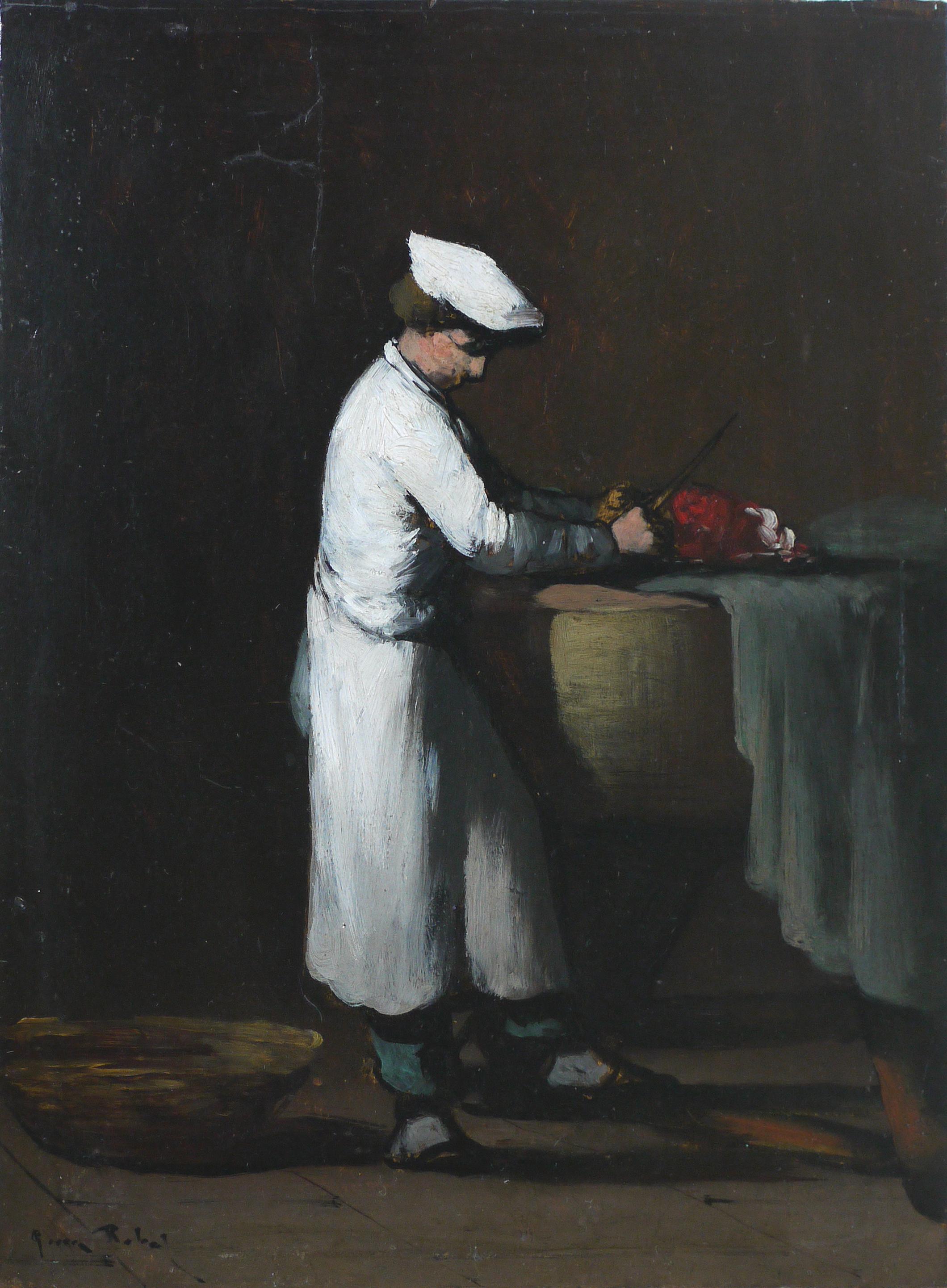 Théodule Ribot, Garçon Cuisinier, 19ème s. © Musée de Valence, photographie Béatrice Roussel