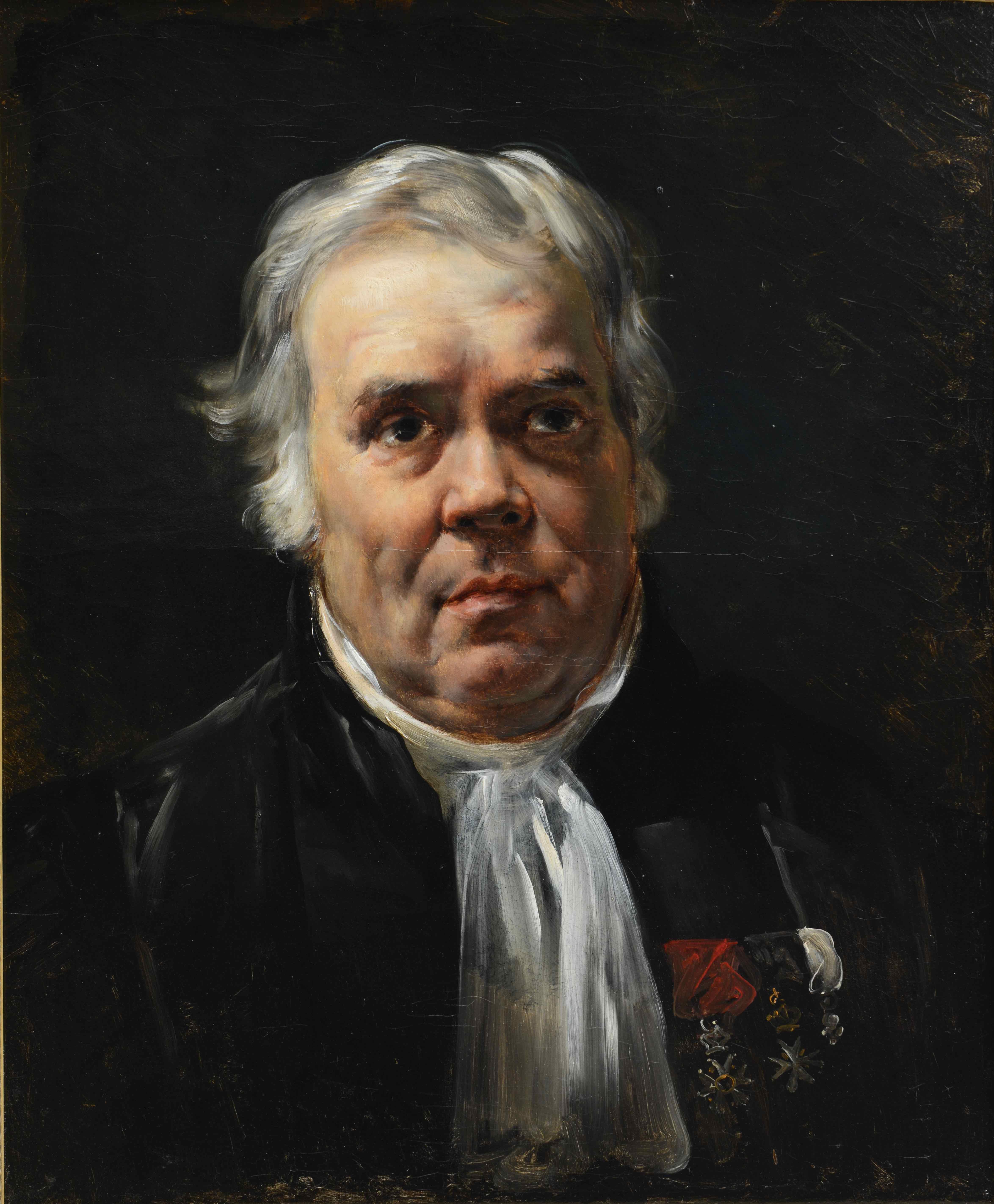 Horace Vernet, Portrait de Noël-Joseph Madier-de-Montjau, 19ème s. © Musée de Valence, photo Eric Caillet