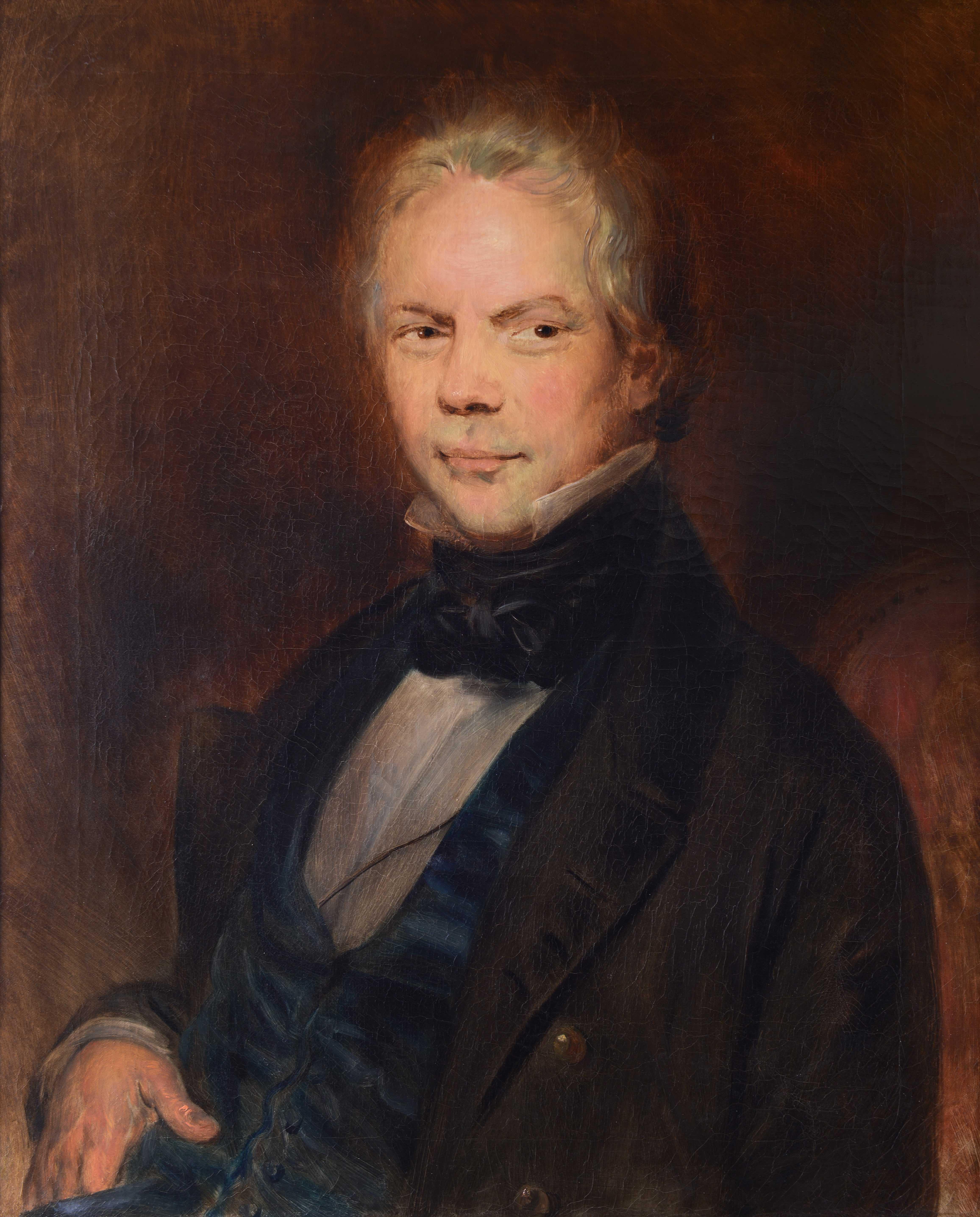 Joseph-Antoine Wiertz, Portrait de Florentin Faure, vers 1830 © Musée de Valence, photographie Eric Caillet
