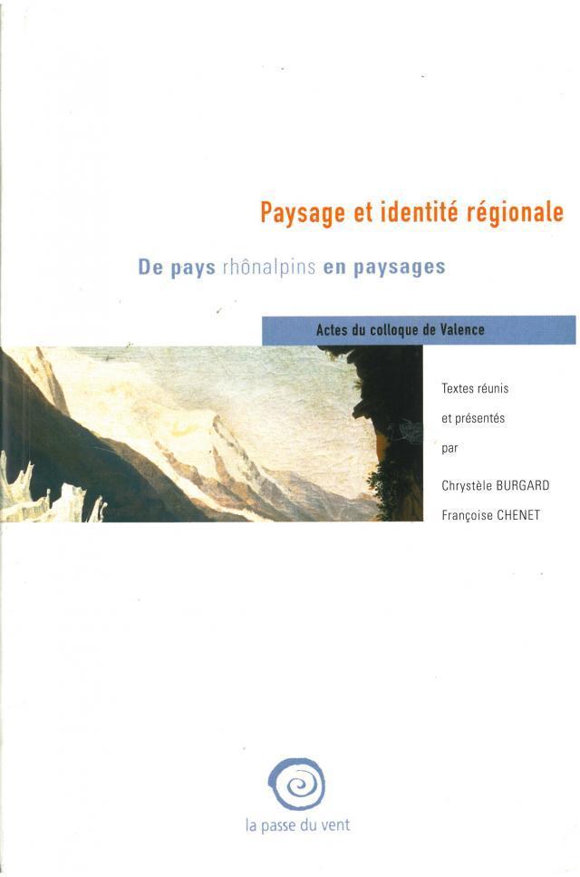 Paysage et identité régionale.